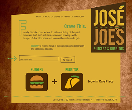 José Joe's Web Site